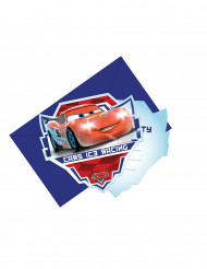 6 Convites com envelopes Cars Ice Racers™