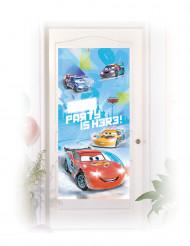 Decoração de porta Cars Ice Racers™ 76 x 150 cm