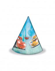 6 Chapéus de festa Cars Ice Racers™