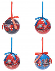 4 Bolas de Natal Spiderman™