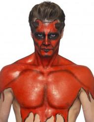 Maquilhagem látex líquido vermelho com esponja 59 ml