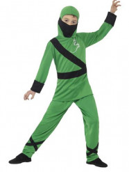 Disfarce ninja verde menino