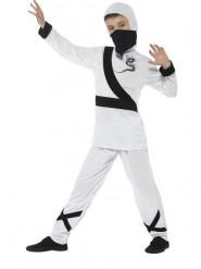 Disfarce Ninja branco menino