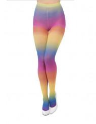 Collants arco-íris mulher