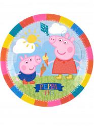 8 Pratos Peppa Pig™