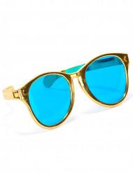 Óculos gigantes dourados para adulto