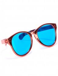 Óculos gigantes vermelhos adulto