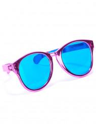 Óculos gigantes cor-de-rosa adulto