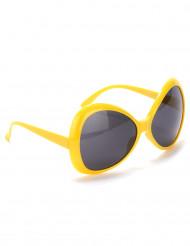 Óculos disco adulto amarelos