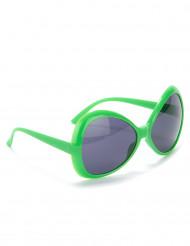 Óculos disco para adulto verdes