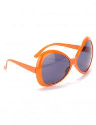 Óculos disco adulto cor de laranja