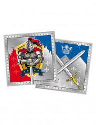 20 Guardanapos cavaleiros