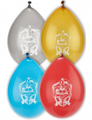8 Balões de látex cavaleiros