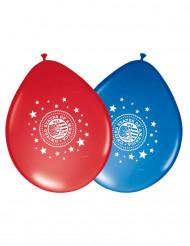 8 Balões de látex USA