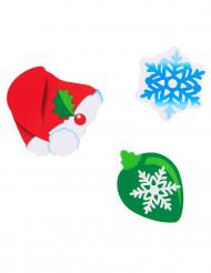 24 Confetis de mesa Natal