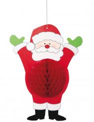 Decoração para pendurar Pai Natal