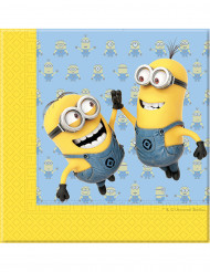 20 Guardanapos de papel Lovely Minions™