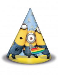 6 Chapéus de festa Lovely Minions™
