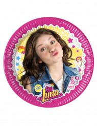 8 Pratos pequenos de cartão Soy Luna™