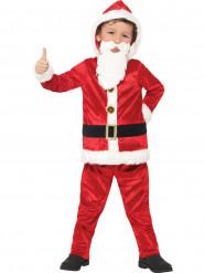 Disfarce Pai Natal com barriga grande e chip de som menino
