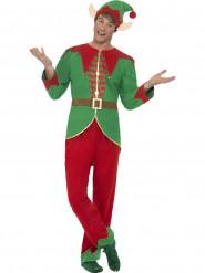 Disfarce Duende mágico homem Natal