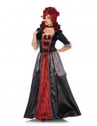 Disfarce condessa vampira mulher