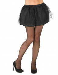 Tutu preto com saiote opaco mulher