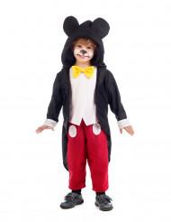 Disfarce rato preto criança