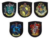 Lote de 5 réplicas de escudos Hogwarts- Harry Potter™