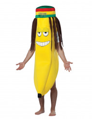 Disfarce Banana Rasta adulto
