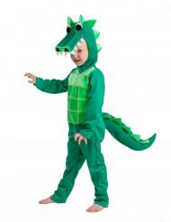 Disfarce crocodilo criança - Premium