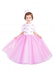 Disfarce Princesa cor-de-rosa menina - Premium