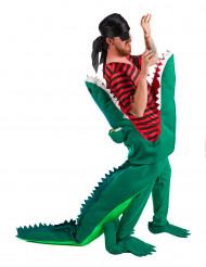 Disfarce Pirata comido por um crocodilo - adulto