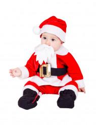 Disfarce Pai Natal bébé