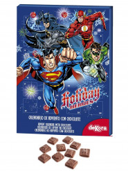 Calendário do advento de chocolate DC Comics™