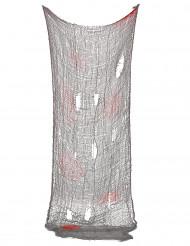 Decoração lençol furado ensanguentado Halloween