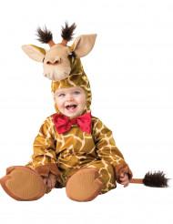 Disfarce girafa para bebé - Luxo