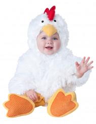 Disfarce de pequena galinha para bebé - Luxo