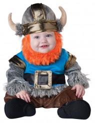 Disfarce Viking barbudo para bebé - Luxo