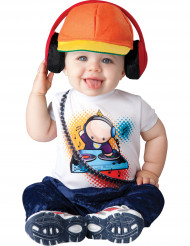 Disfarce mini DJ para bebé - Clássico