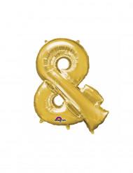 Balão alumínio símbolo & dourado