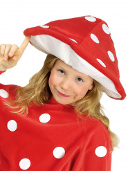 Chapéu cogumelo criança