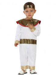 Disfarce pequeno egípcio branco bebé