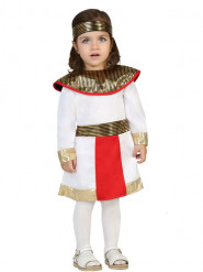 Disfarce egípcia branca bebé