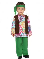 Disfarce hippie colorido bebé