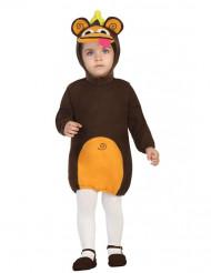 Disfarce vestido macaco bebé