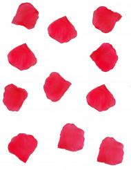 150 Pétalas de flores de tecido vermelho