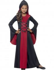 Disfarce bruxa encantadora menina Halloween