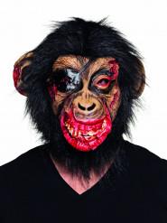 Máscara de macaco sangrento látex adulto
