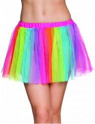 Tutu arco iris mulher